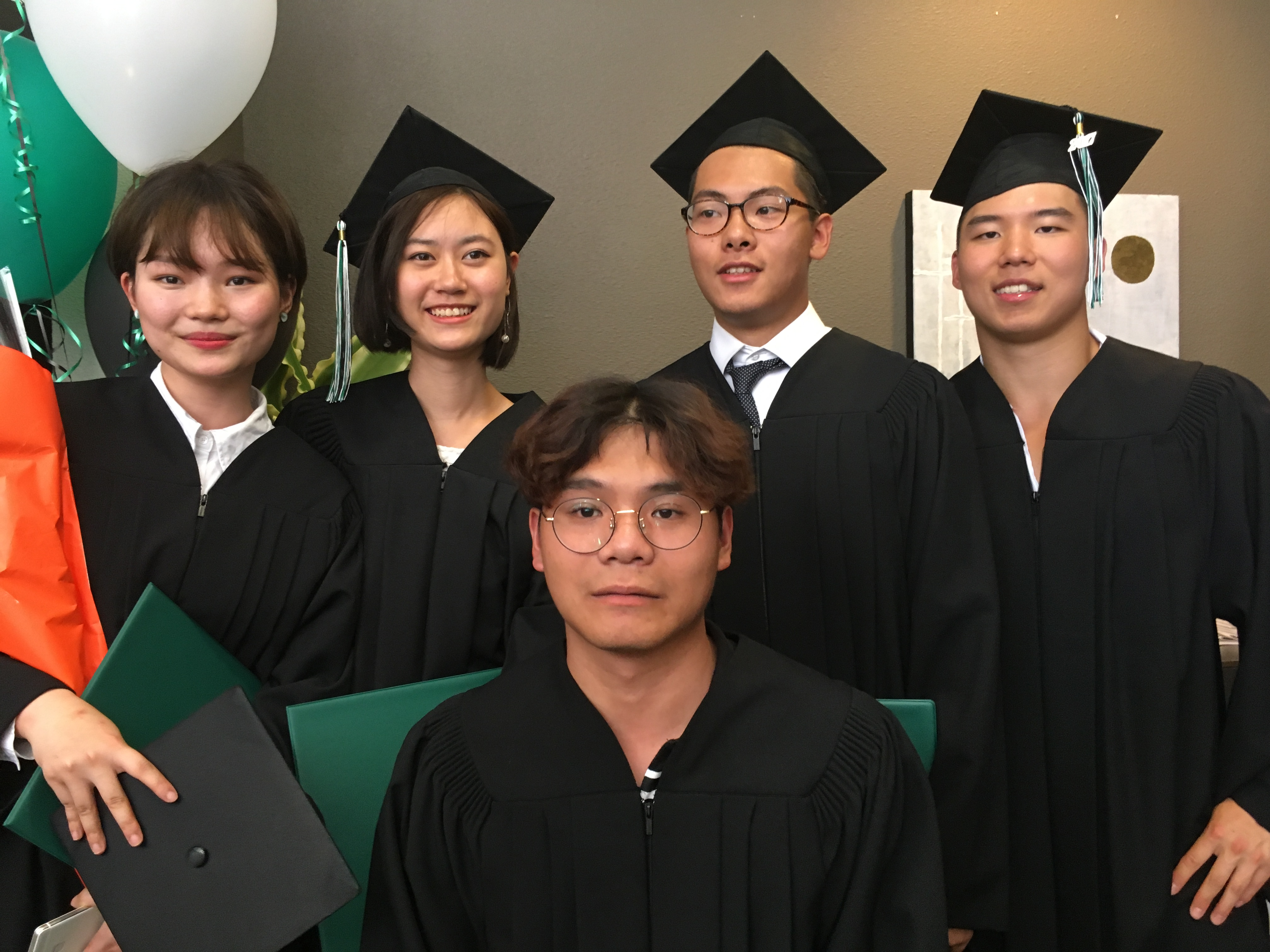 Commencement Ceremony Grade 12 students